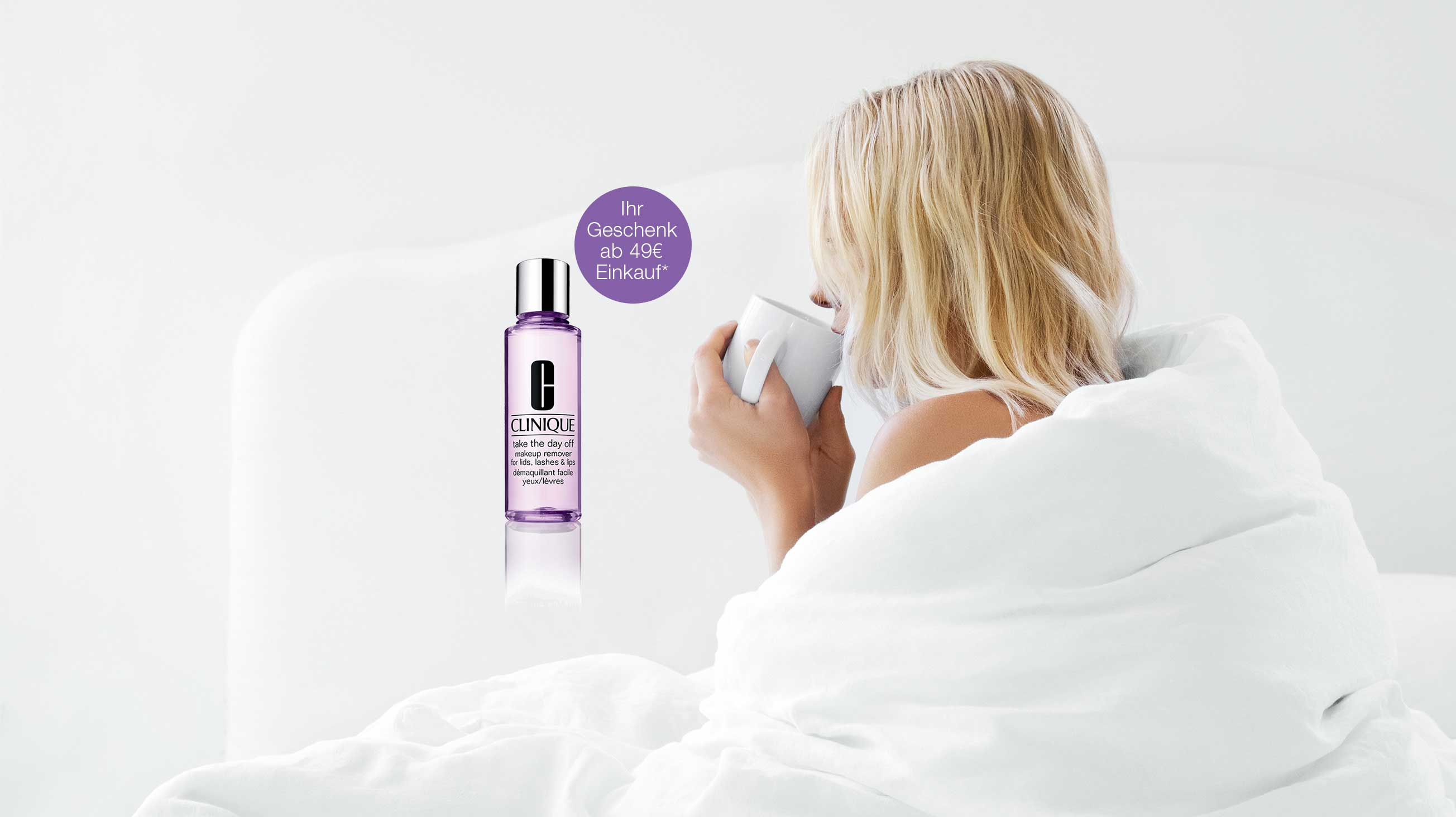Gratis Take The Day Off Makeup Remover ab 49€ Einkauf